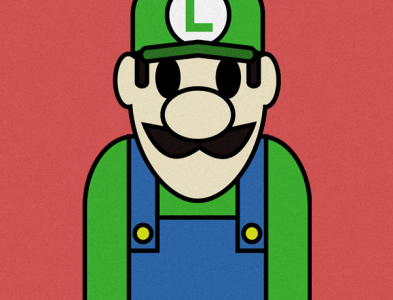 Luigi Illustration