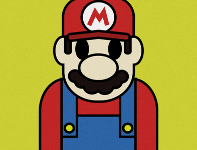 Mario Illustration